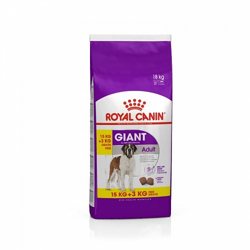 Royal Canin GIANT Adult 15+3