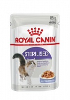 Royal Canin пауч STERILISED желе