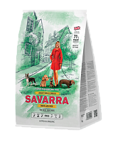 Savarra Dog Adult для Собак мелких пород с Уткой и Рисом 1кг