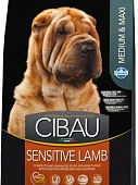 Cibau Sensitive Lamb Medium & Maxi 12кг