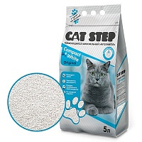 Cat Step Compact White Original 5л Комкующийся